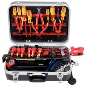 KS Tools Premium Max Elektriker-Werkzeugkoffer,195-tlg., 117.0195