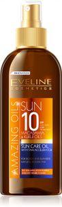 Eveline Cosmetics - Bräunungsöl - Amazing Oils Sun Care Oil With Tan Accelerator Spf10