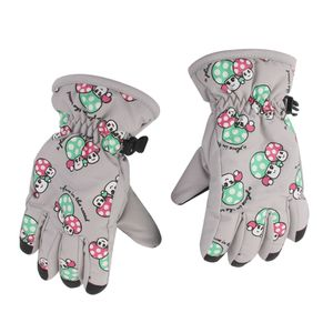 Kids Winter-Handschuhe Farbe Grau
