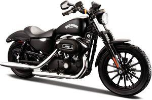 Maisto 32326 - Modellmotorrad - Harley Davidson Sportster Iron 883 '13 (schwarz, Maßstab 1:12)