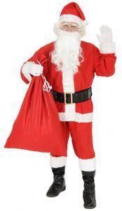 Weihnachtsmannkostüm Kostüm Weihnachtsmann Weihnachten Nikolaus Gr S - XXXXL, Größe:L