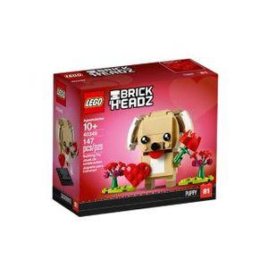 LEGO BrickHeadz Valentinstag-Welpe - 40349, Bausatz, Junge/Mädchen, 10 Jahr(e), 147 Stück(e)