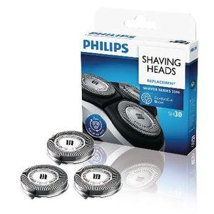 Philips SH 30/50 ComfortCut Ersatzscherklingen V3, Farbe:Silber