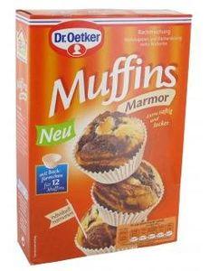 Dr. Oetker - Marmor Muffins - 12St/320g