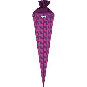 ergobag Schultüte, Zuckertüte, Einschulung, 75 cm NachtschwärmBär