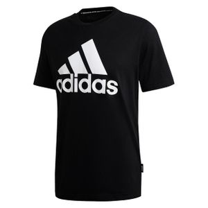 adidas Herren T-Shirt Must Haves Badge Of Sport BLACK L