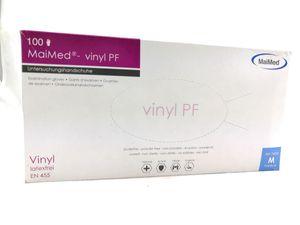 MAIMED Vinyl PF Gr. M 1 Pack = 100 stk.