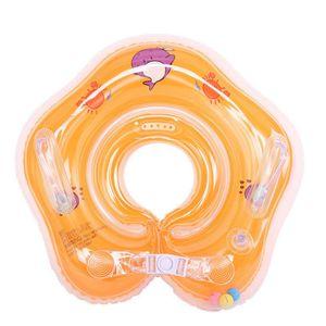 Schwimmhilfe Baby Hals Schwimmring Babyschwimmring Schwimmkragen Halsschwimmring,orange