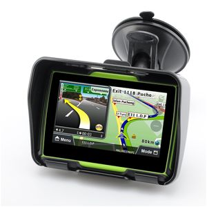 4,3 Zoll Touchscreen Motorrad GPS Outdoor tragbares Navigationsgeraet wasserdicht stossfest staubdicht GPS Navigator