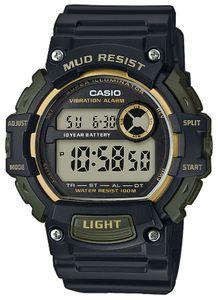 Casio Herrenuhr TRT-110H-1A2VEF Digitaluhr Vibrationsalarm schwarz