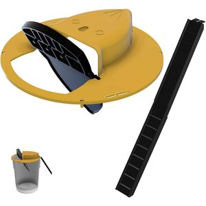 Flip N Slide Bucket Deckel Mausefalle Automatische Mausefalle Eimer Kompatibel (ohne Eimer)