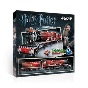 Harry Potter 3D Puzzle Hogwarts Express 460 Teile ca. 63cm langer Zug