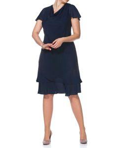 Sheego Damen Abendkleid, dunkelblau, Größe:48