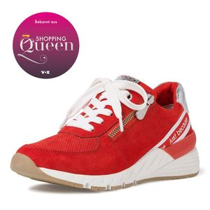 MARCO TOZZI Premio Fashion Sneaker Schuhe Low Top 2-23739-34 Burn Orange Core, Größe:EUR 39