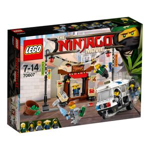 LEGO® NINJAGO Verfolgungsjagd in NINJAGO® City 70607