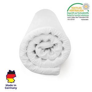 Orthopädischer Matratzentopper 180x200 von MisterSandman hergestellt in Deutschland für ruhigen Schlaf | Matratzenauflage