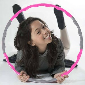68cm Hula Hoop Reifen Fitness Kinder Einfach zusammensteckbar Abnehmen Hula Hoop Abnehmbare Abschnitte, Hula Hoops zur Reifen