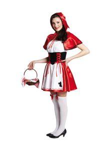 Rotkäppchen Karneval Fasching Kostüm 44