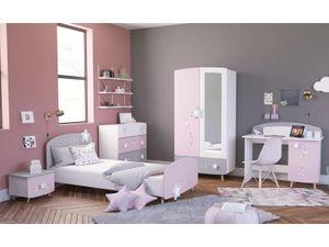 "Kinderzimmer Möbelset Mädchenzimmer Kinderzimmermöbel (5-teilig) ""Savannah I"""