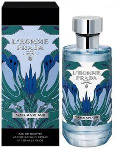 Prada L'Homme Water Splash Eau de Toilette 150ml