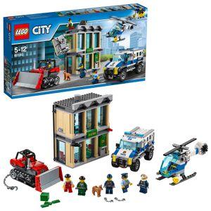 LEGO® City Bankraub mit Planierraupe 60140