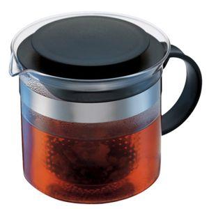 Bodum 1870-01 Bistro Nouveau Tee Bereiter 1,5 Liter Schwarz