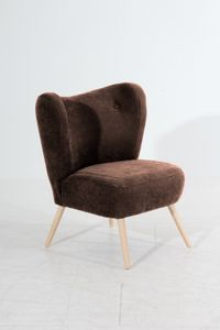 Max Winzer Sari Sessel - Farbe: braun - Maße: 70 cm x 69 cm x 86 cm; 30151-1100-2051701-F01
