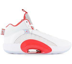 Air Jordan 35 XXXV - Herren Basketballschuhe Weiß-Rot CQ4227-100 , Größe: EU 42 US 8.5