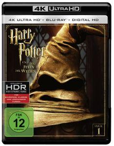 Harry Potter 1 (UHD+BR) Stein der Weisen 2Disc's        4K Ultra