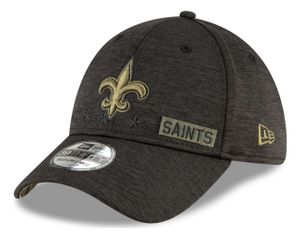 New Era - NFL New Orleans Saints 2020 Salute to Service 39Thirty Stretch Cap - Grau : Grau L-XL