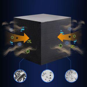 Wasserfilter Cube Aquarium Filter Eco-Aquarium Filter Ultra Strong Filtration & Absorption 10X10X10CM