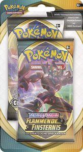 Pokemon SWSH3 Schwert & Schild 'Flammende Finsternis' Blister Boosterpack, Menge:1 Stück