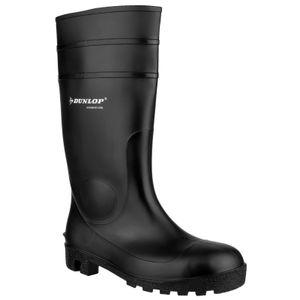 Dunlop FS1600 142PP Unisex Sicherheitsgummistiefel FS2684 (46 EUR) (Schwarz)