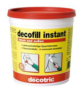 Decotric , Decofill instant für innen u. außen,  1kg Eimer