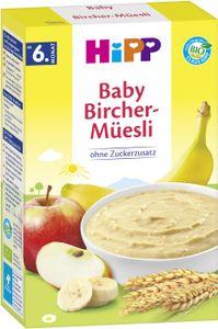 Hipp organic cereal porridge good morning porridge Bircher muesli from the 6th month, 250g