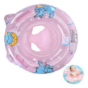 Baby Schwimmring, Baby Schwimmhilfe mit Schwimmsitz für Kleinkind Schwimmhilfe ab 6 Monate bis 36 Monate,Rosa