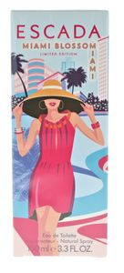 Escada Miami Blossom 100 ml Eau de Toilette EDT Neu Sommer Summer 2019 Limited