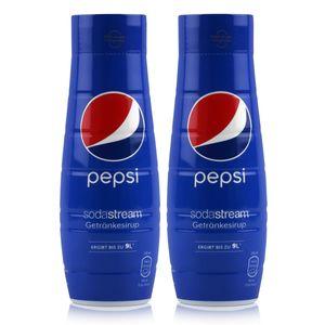SodaStream Getränke-Sirup Softdrink Pepsi 440ml (2er Pack)