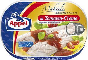 Appel Makrelenfilets in Creme aus sonnengereiften Tomaten 200g