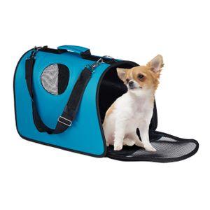 relaxdays Hundetasche für kleine Hunde
