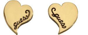 Guess Jewellery New Love Damen gold Herz Ohrstecker UBE11428