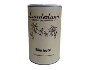 Lunderland - Bierhefe Futterzusatz BARF 700g