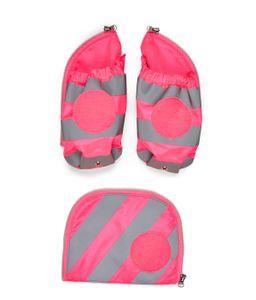 ergobag pack, cubo, cubo light Seitentaschen Reflektorstreifen Zip-Set, ab Kollektion 19/20 Pink