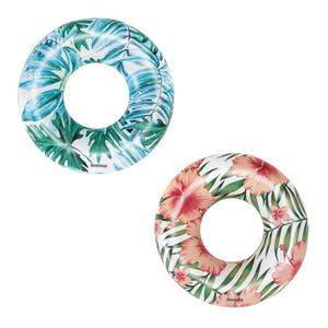 Bestway® Schwimmring, Tropical Palms, 119 cm, sortiert