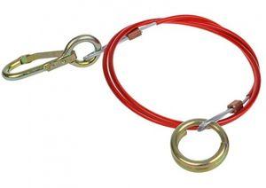 ProPlus bruchkabel für Auflaufbremse 100 cm rot