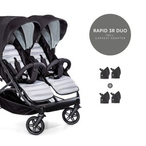 Hauck Rapid 3R Duo silver Charcoal