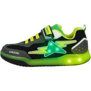Geox Kinder Sneaker  Synthetikkombination grün 35