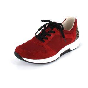 Gabor Comfort Sneaker  Größe 5.5, Farbe: red/savanne
