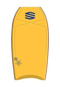 """Sniper Vyrus PE Bodyboard Farbe: Yellow, Board Größe: 44"""""""