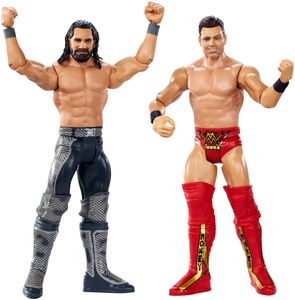 WWE WrestleMania Actionfiguren (15 cm) 2er-Pack Seth Rollins vs The Miz